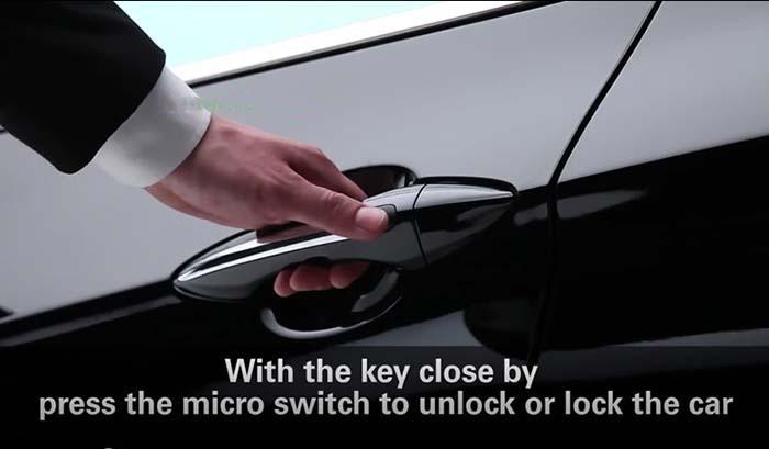 Các tính năng thông minh của hệ thống Smart Key